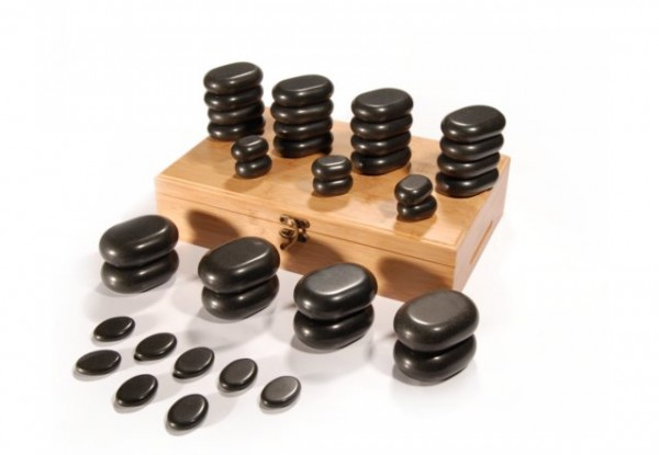 Hot Stone - Set, 36-teilig